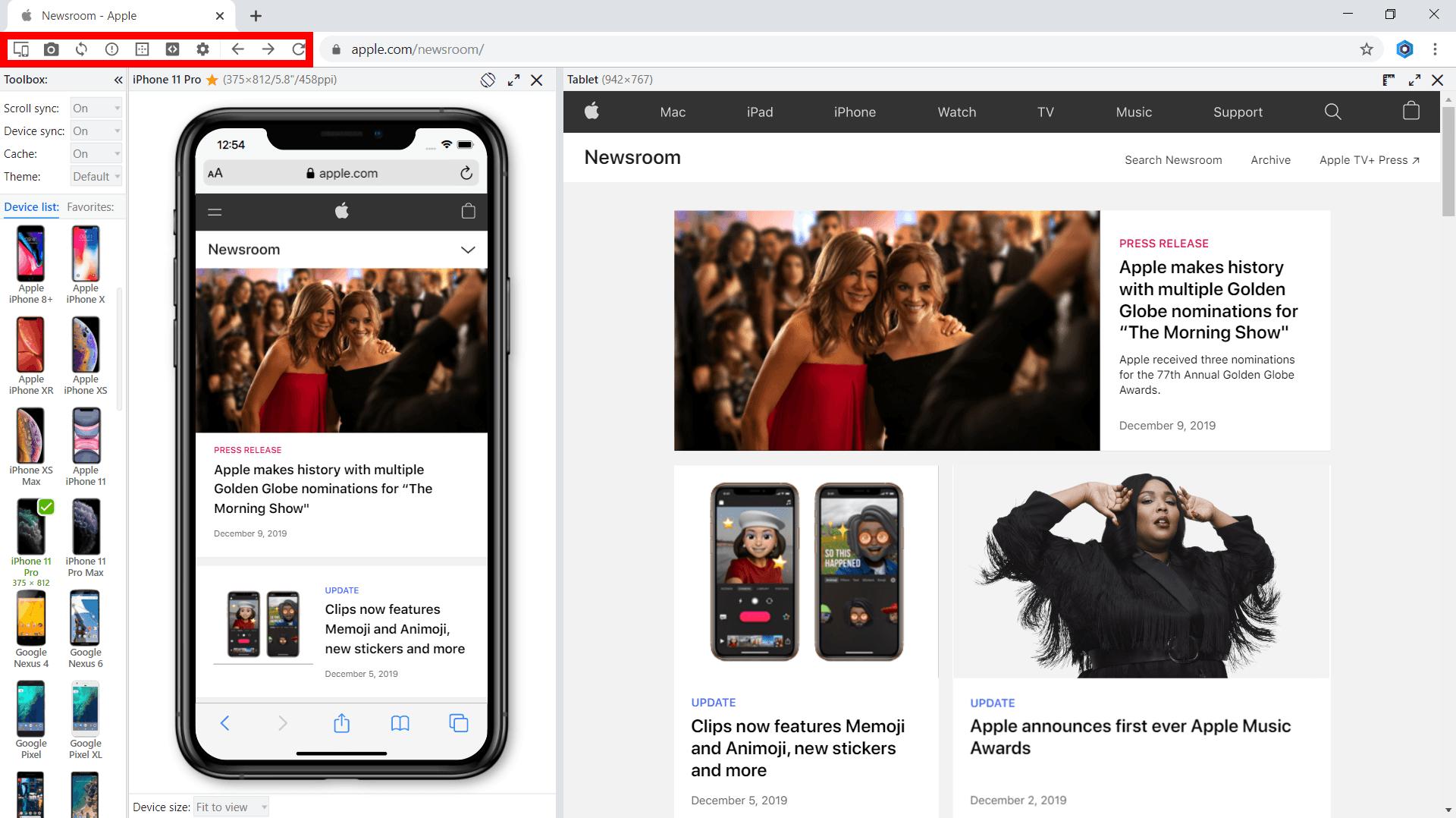 Blisk toolbar